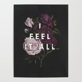 I Feel It All Poster