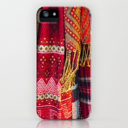 maasai traditional clothes iPhone Case