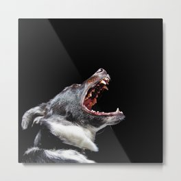 Bite The Hand That Feeds Metal Print