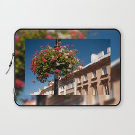 Pink and red Ivy leaved geranium Laptop Sleeve