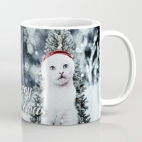 xmas Mugs featuring ~Xmas by SOPHIA FREITAS