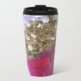 Abstraction World #1. Part 3 Metal Travel Mug
