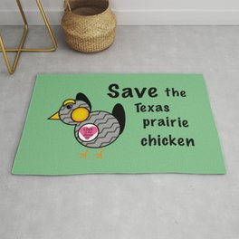 The Monkees - Save the Texas Prairie Chicken Rug