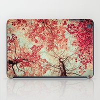 phone iPad Cases featuring Autumn Inkblot by Olivia Joy StClaire