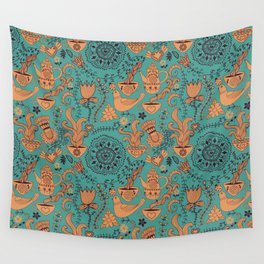 tea decoration Wall Tapestry