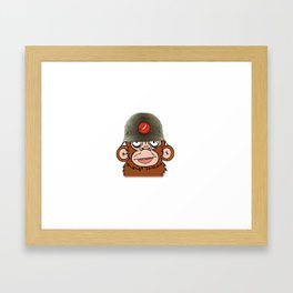Third Reich Monkey Business Framed Art Print