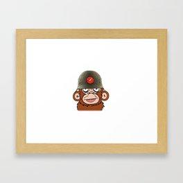 Third Reich Monkey Business Framed Art Print