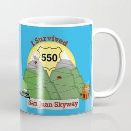 I Survived HWY 550 Durango to Silverton Coffee Mug