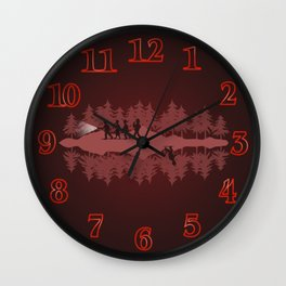 Stranger Things clock Wall Clock