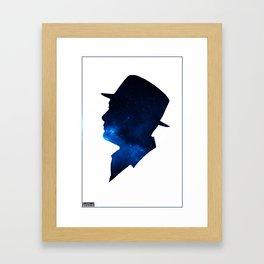 Raymond Reddington | A sky full of stars. Framed Art Print