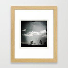 Mother's Day Skyline Framed Art Print
