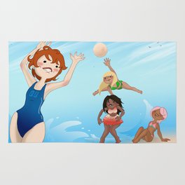 Beach Volley Rug