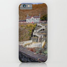 Hospital Steps at Llanberis Quarry iPhone Case