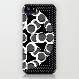 Centro en grises 135 x 135 Glojag iPhone Case