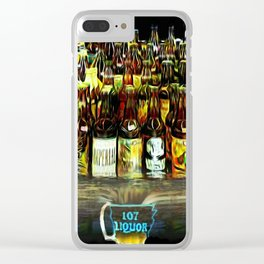 107 Liquor Clear iPhone Case