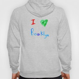 "I ""heart"" Booklyn Hoody"