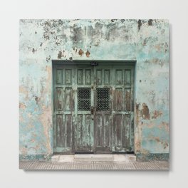 The Doors of Merida VI Metal Print