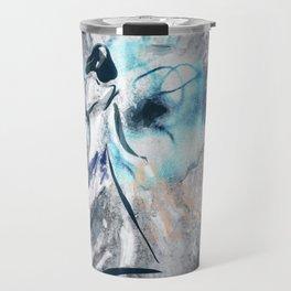 A Princess and an Eye digital art drawing Travel Mug