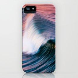 Sunrise Surf HB Pier 9/12/15  (Pk) iPhone Case