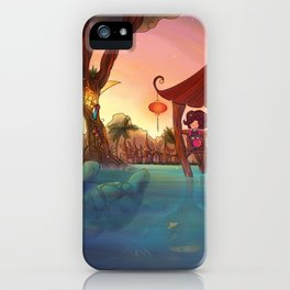 Friends from afar iPhone Case