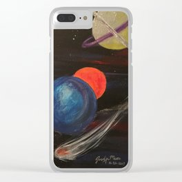 Planetoid Clear iPhone Case