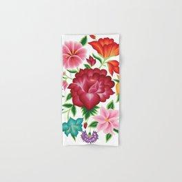 Mexican Floral Bouquet Hand & Bath Towel