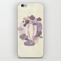 balloons iPhone & iPod Skins featuring Balloons by mirimo