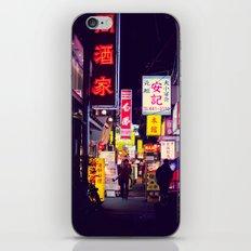 Shinjuku alley 2 iPhone & iPod Skin