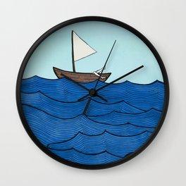 Watery Wonderland Wall Clock