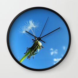 Don't Waste your Wishes Wall Clock