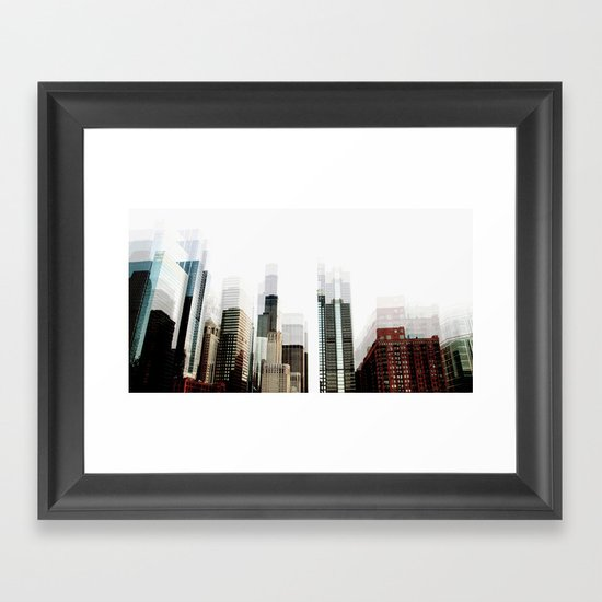 diffused Framed Art Print