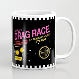 Rupaul's Drag Race - 8 Bit NES Coffee Mug