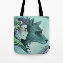 The Forest Prince Tote Bag