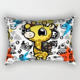 Cute Giraffe Rectangular Pillow