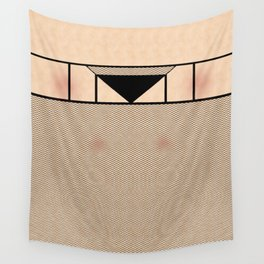 Fishnet Stockings and Black Knickers Wall Tapestry