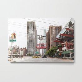 Roosevelt Island Tramway Metal Print