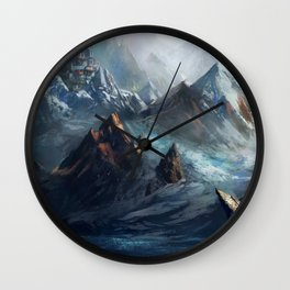 Himalayan Wall Clock
