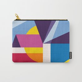 Abstract modern geometric background. Composition 4 Carry-All Pouch