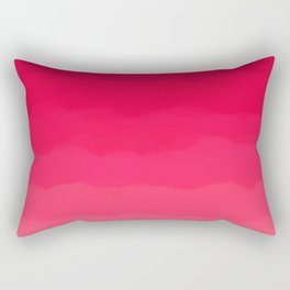 Perfectly Pink Ombre Rectangular Pillow