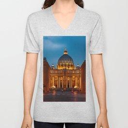 Basilica Papale di San Pietro in Vaticano - ROME Unisex V-Neck