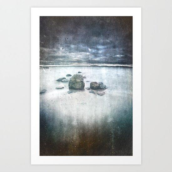 I´m draining Art Print