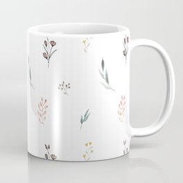 Little botanics pastel pattern Coffee Mug