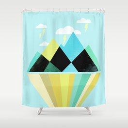 Void Dweller Shower Curtain