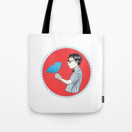 Nerd of Prey Tote Bag