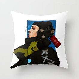 SEABEAST Throw Pillow