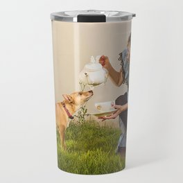 tea with alice Travel Mug