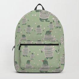 Penguin Christmas Backpack