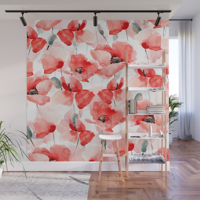 Poppies   Wall Mural