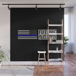 Police: Future Police Officer Wall Mural