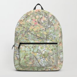 Autumn Pastels Woods Backpack